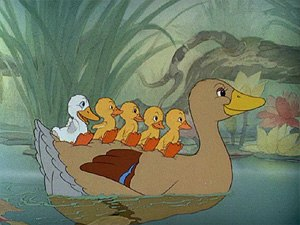 The Ugly Duckling - Disney's 1939 version