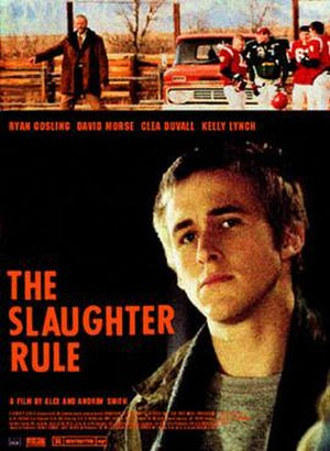 The Slaughter Rule - Movie poster