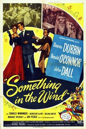 Something in the Wind - Image: Something in the Wind 1947 Poster