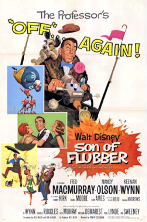 Son of Flubber - 1963 Theatrical Poster