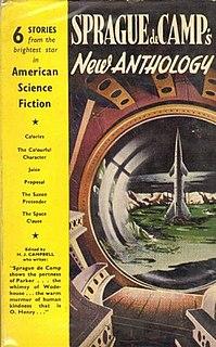 <i>Sprague de Camps New Anthology of Science Fiction</i> book by Lyon Sprague de Camp
