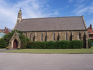Rossall School - Rossall Sumner Library (Formerly the school chapel)