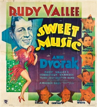 Sweet Music - Theatrical release poster