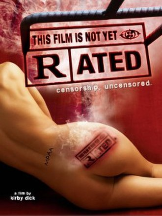 This Film Is Not Yet Rated - Theatrical release poster