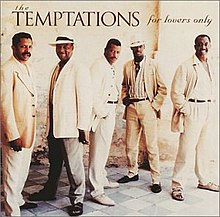 For lovers only the temptations album