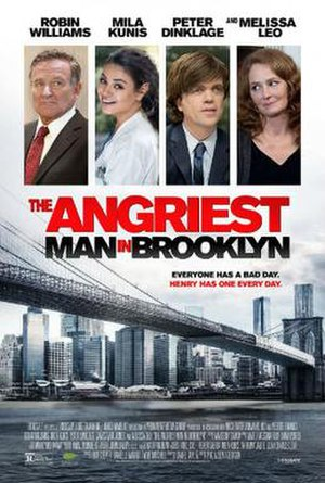 The Angriest Man in Brooklyn - Theatrical release poster