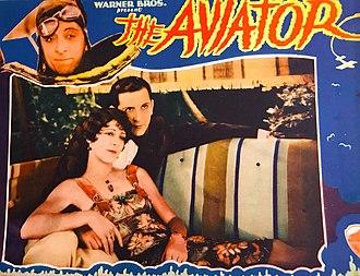 The Aviator (1929 film) - lobby card.