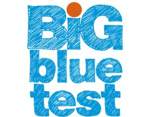 Diabetes Hands Foundation - Image: The Big Blue Test Logo
