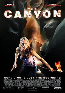 The Canyon 2009 film poster.jpg