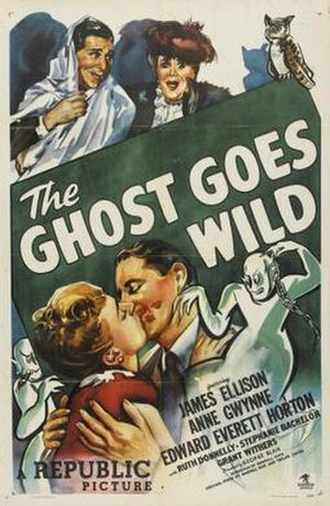 The Ghost Goes Wild - Theatrical release poster