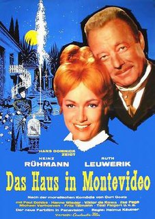 <i>The House in Montevideo</i> (1963 film) 1963 film by Helmut Käutner