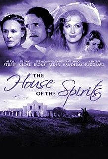 <i>The House of the Spirits</i> (film) 1993 drama movie directed by Bille August