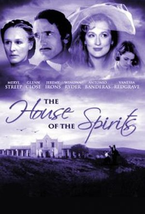 The House of the Spirits (film) - Promotional poster (US)