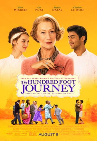 The Hundred-Foot Journey (film) - Theatrical release poster