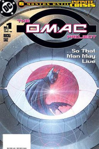 The OMAC Project - Image: The Omac Project (comic) first issue cover