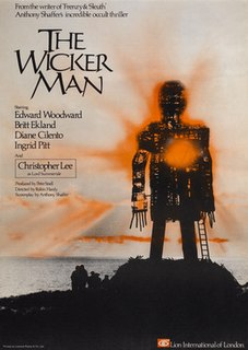 <i>The Wicker Man</i> 1973 film by Robin Hardy