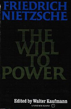 The Will to Power (manuscript) - Image: The Will to Power