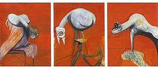 1944 triptych by Francis Bacon