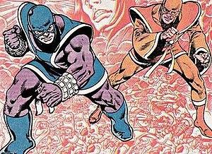 Thunder and Lightning (comics) - Image: Thunder and lightning gan and tavis willliams