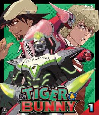 Tiger & Bunny - Cover of the first Blu-ray volume