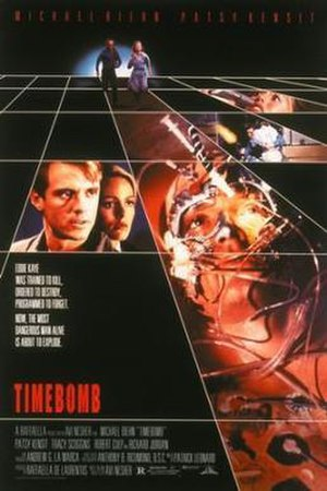 Timebomb (1991 film) - Promotional movie poster