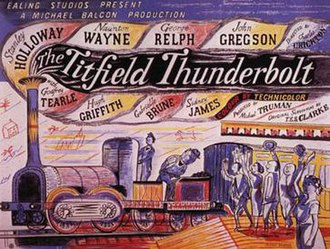 The Titfield Thunderbolt - Theatrical release poster