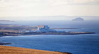 Torness Nuclear Power Station - The station viewed from the east