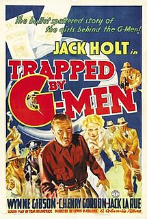 <i>Trapped by G-Men</i> 1937 film by Lewis D. Collins