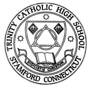 Trinity Catholic High School (Connecticut) - Image: Trinity Catholic High School (Connecticut) logo