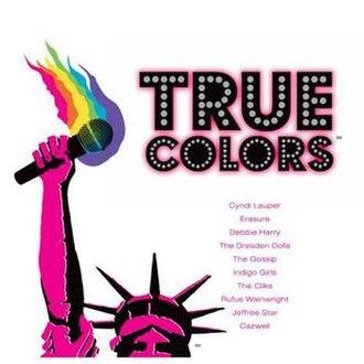 True Colors (concert tour) - Image: True Colors 2007 The Tour CD cover