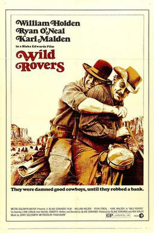 Wild Rovers - US release poster