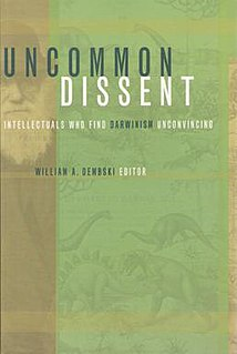 <i>Uncommon Dissent</i> book by William A. Dembski