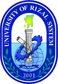 University of Rizal System System of colleges located in Rizal, Philippines