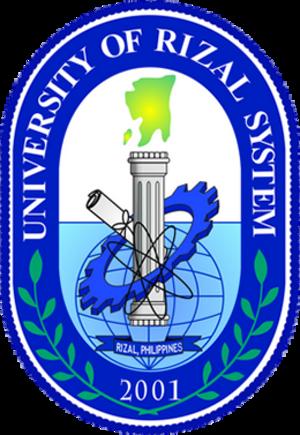 University of Rizal System - Image: University of Rizal