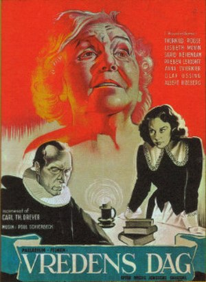 Day of Wrath - Danish theatrical release poster