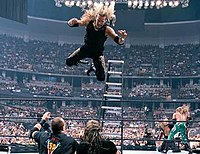 Edge and Christian vs. The Dudley Boyz vs. The Hardy Boyz for the Tag Team Championship
