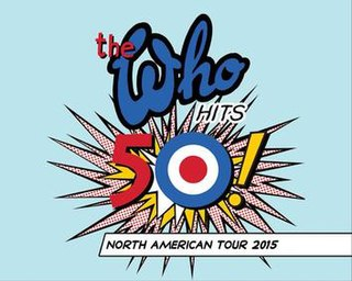 The Who Hits 50! The Who concert tour