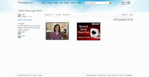 Windows Live Video Messages - Windows Live Video Messages