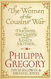 <i>The Women of the Cousins War</i> book by Philippa Gregory