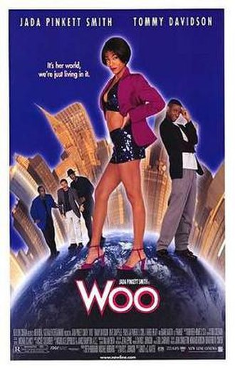 Woo (film) - Theatrical release poster