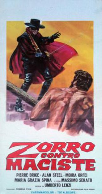 Samson and the Slave Queen - Image: Zorro contro maciste