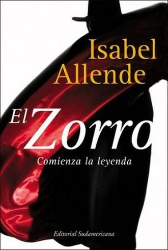 Zorro (novel) - First edition cover