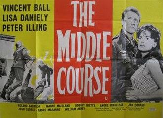 Middle Course - Original British quad poster