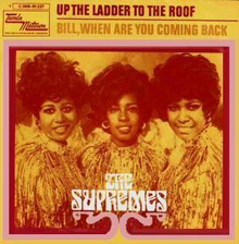 Image result for the supremes up the ladder to the roof single images