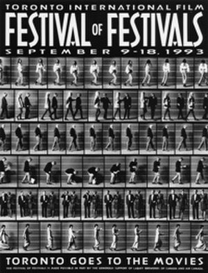 1993 Toronto International Film Festival - Festival poster