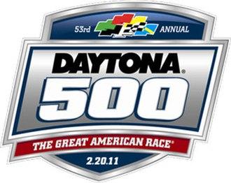 2011 Daytona 500 - Image: 2011 Daytona 500
