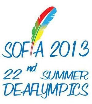 2013 Summer Deaflympics - Image: 2013 Summer Deafolympics Initial Logo