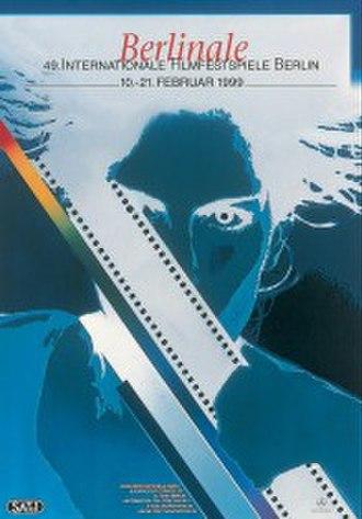 49th Berlin International Film Festival - Festival poster