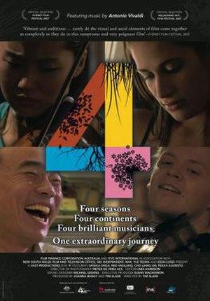 4 (2007 film) - US Film Poster