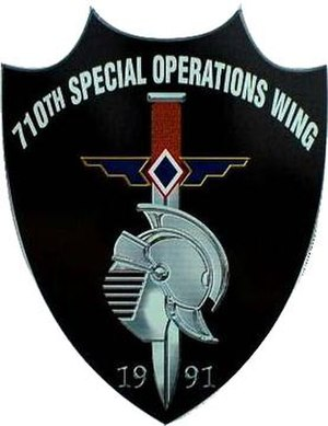 710th Special Operations Wing - Official patch of the 710th Special Operations Wing